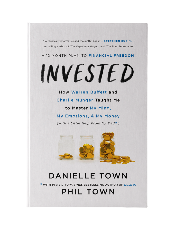 invested is an essential handbook about her yearlong journey learning to invest as taught by her father investor and bestselling author phil town